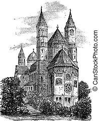 Catedral de St Peter o gusanos catedral en gusanos cosechas germánicas