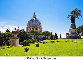 catedral, roma, italia, peter, santo