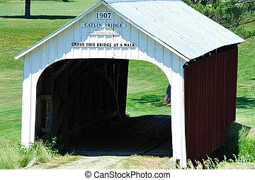 Catlin cubrió el puente, Indiana