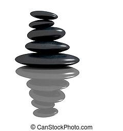 Cebollas de basalto Zen