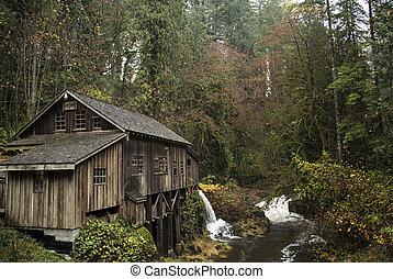 Cedar Creek Grit Mills, 1876