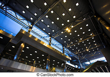 Ceiling with light