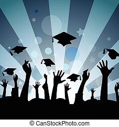 Celebración de graduación