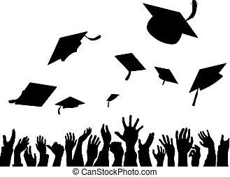 Celebración de la convocación de la graduación