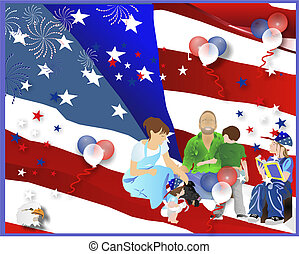 Celebraciones de días, en los buenos Estados Unidos