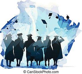 celebration., graduación