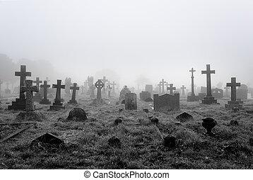 Cementerio de niebla