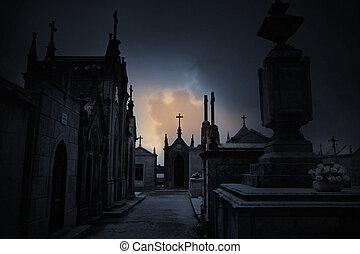 Cementerio oscuro