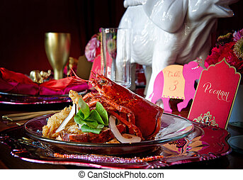 Cena de langosta