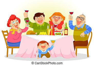 Cena familiar