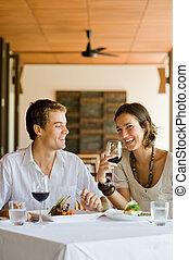 Cenando juntos