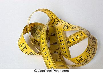centímetros, pulgadas, y