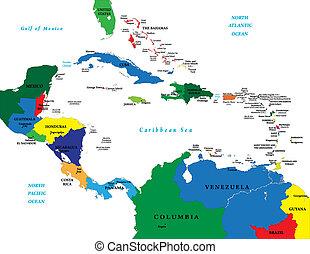 Central América y el Caribe