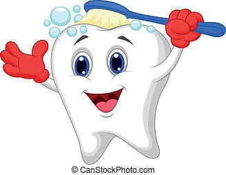 Cepitos de dientes felices