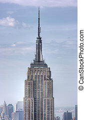 Cerca de Empire State Building, Nueva York