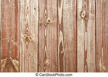 Cerca del patrón en una puerta de madera.