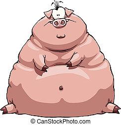 Cerdo gordo