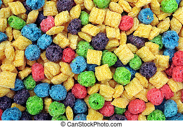 Cereales coloridos