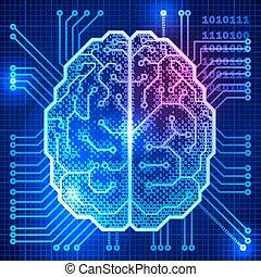 cerebro, cyber