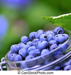 Cerezas azules