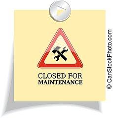 Cerrado para mantenimiento