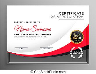 Certificado de éxito profesional