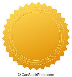 certificado, garantía