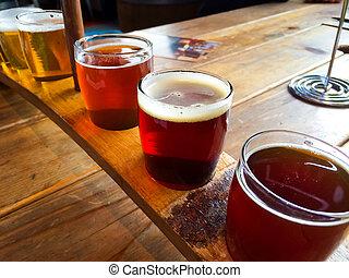 cerveza, arte, dechado