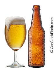 Cerveza con botella