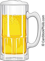 Cerveza con cerveza