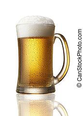 Cerveza en taza
