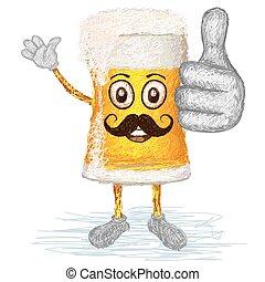 Cerveza feliz