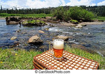 Cerveza y naturaleza