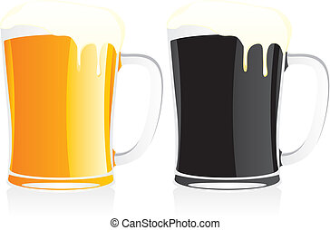 Cervezas aisladas