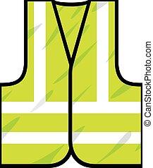 Chaleco de seguridad verde