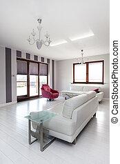 Chalet Vibrant - sofá brillante