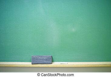chalkboard-horizontal, blanco