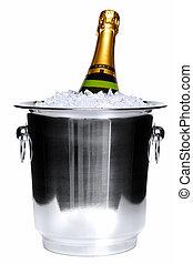 Champaña sobre hielo