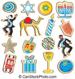 chanukah, galletas, judío
