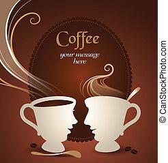 Charla de café