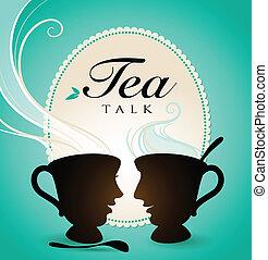 Charla de té