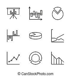chart., vector, conjunto