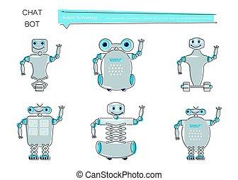 chatbot, conjunto