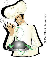 Chef aislado