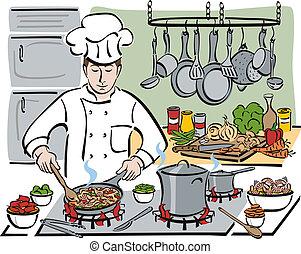 chef, consumar