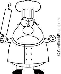 Chef enfadado
