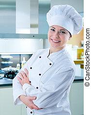 Chef femenino