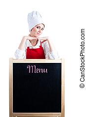 Chef ofrece nuevo menú