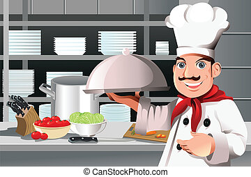chef, restaurante