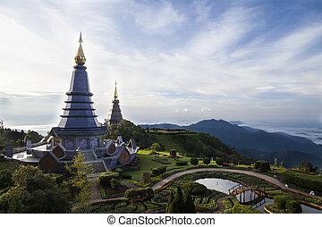 chiang mai, templo, tailandia
